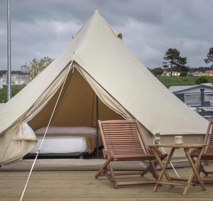 Tienda Safari Camping A Lagoa