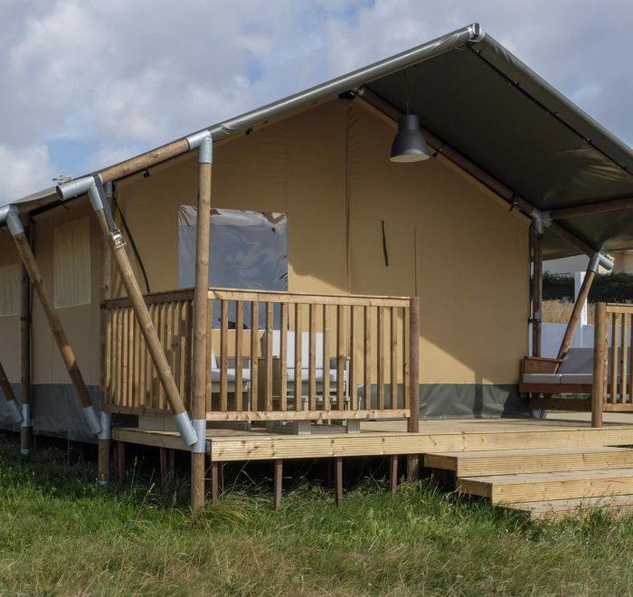 Tiendas en camping a Lagoa